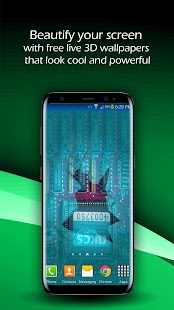 Broken Screen 3D Live Wallpaper - náhled