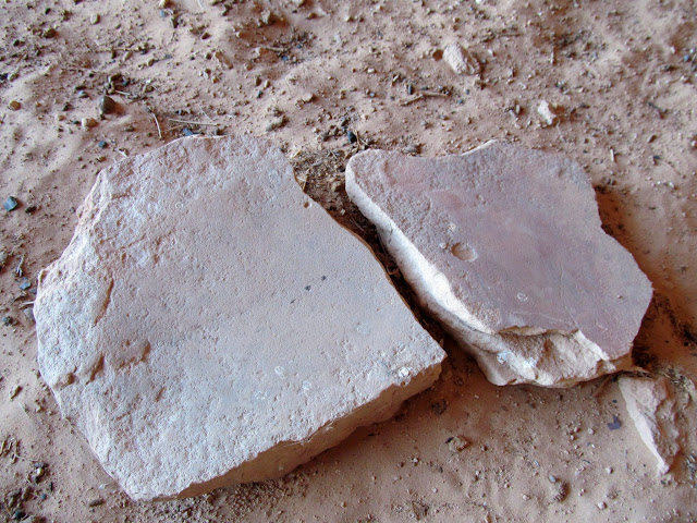Metate fragments