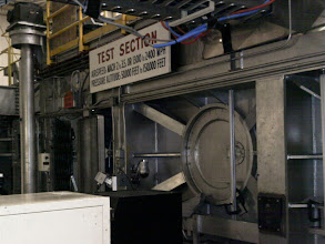 Photo: Door at left-center is the entrance to the 10x10 Supersonic Wind Tunnel