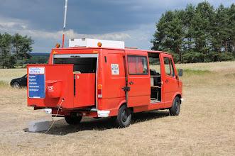Photo: unser Startwagen