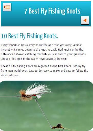 7 Best Fly Fishing Knots