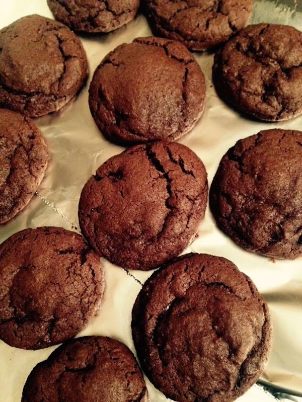 Deep Dark Chocolate Chip Cookies Recipe