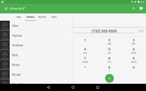 GrooVe IP VoIP Calls & Text 4.3.1 Screenshots 9