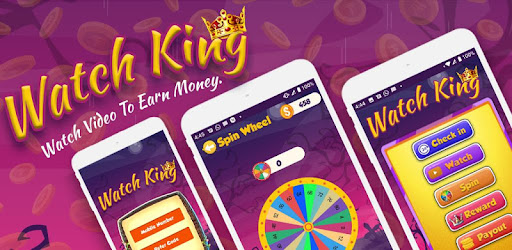 Watch King : Earn money online app (apk) free download for Android/PC/Windows screenshot