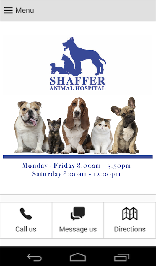 Shaffer Animal Hospital- screenshot