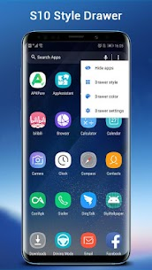 SO S10 Launcher for Galaxy S,  S10/S9/S8 Theme v5.0 [Prime] APK 2