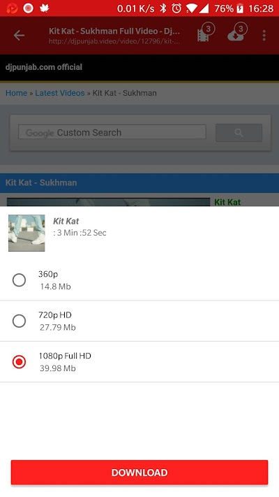 DownViva-Ad free & lightning fast video downloader APK Download