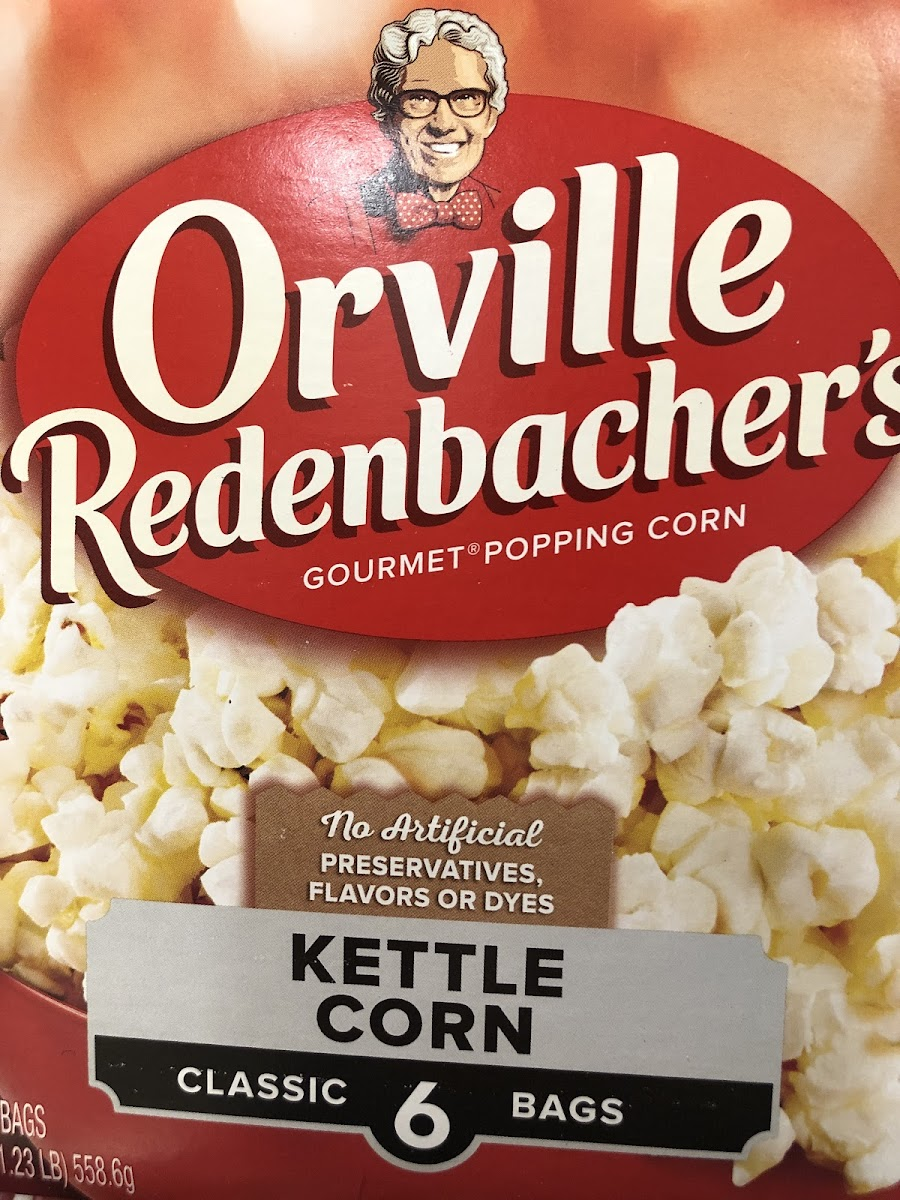 Orville Popcorn: Kettle Corn