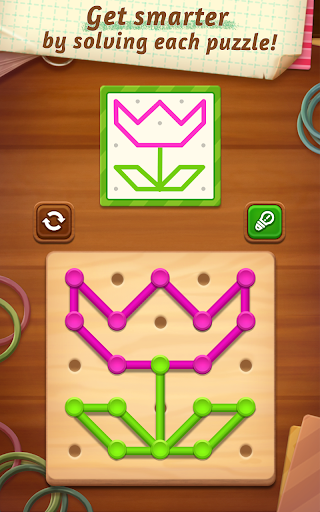 Line Puzzle: Color String Art for Android apk 1