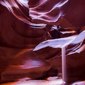 Sandfall by Joel Eade - Landscapes Deserts ( antelope canyon slot canyon beautiful amazing canon landscape desert sand rock perfect )