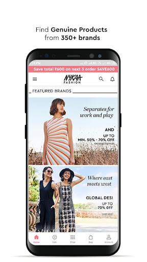 Nykaa Fashion u2013 Online Shopping App screenshots 2