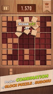 Woody 99 – Sudoku Block Puzzle – Free Mind Games App Download For Android and iPhone 2
