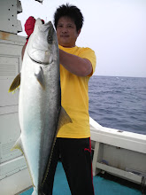 Photo: どうだー! 夏のオオマサ! 9.3kg とにかく引いた! もちろん自己記録! おめでとうございます!