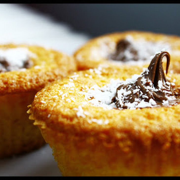 Cupcakes with Coconut and Nutella Recipe