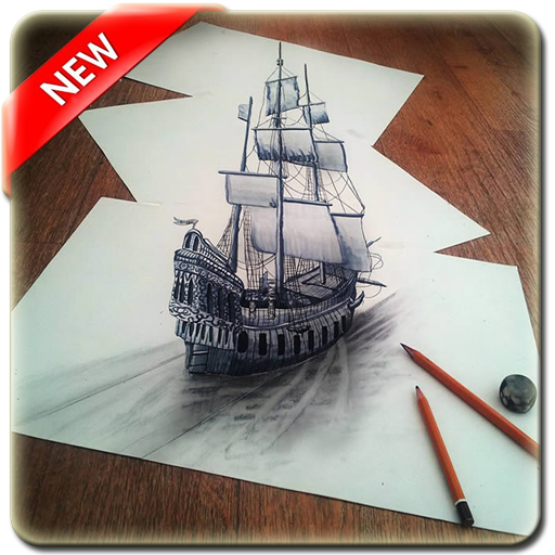 3D Drawing Art Design