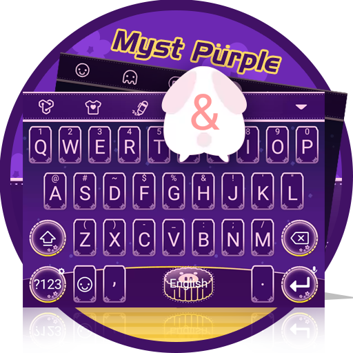 Myst Purple Theme&Emoji Keyboard