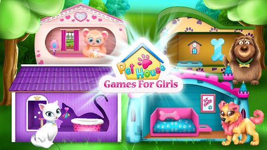 pet house decorating games - android apps on google play