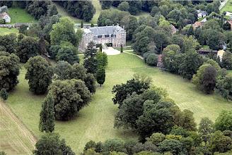 Photo: Arrière du château vu du parc
