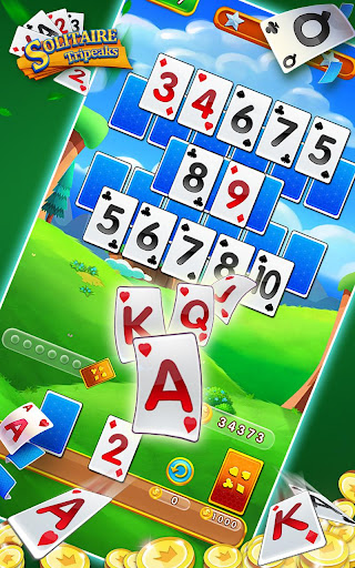 Solitaire Tripeaks - Free Card Games modavailable screenshots 3