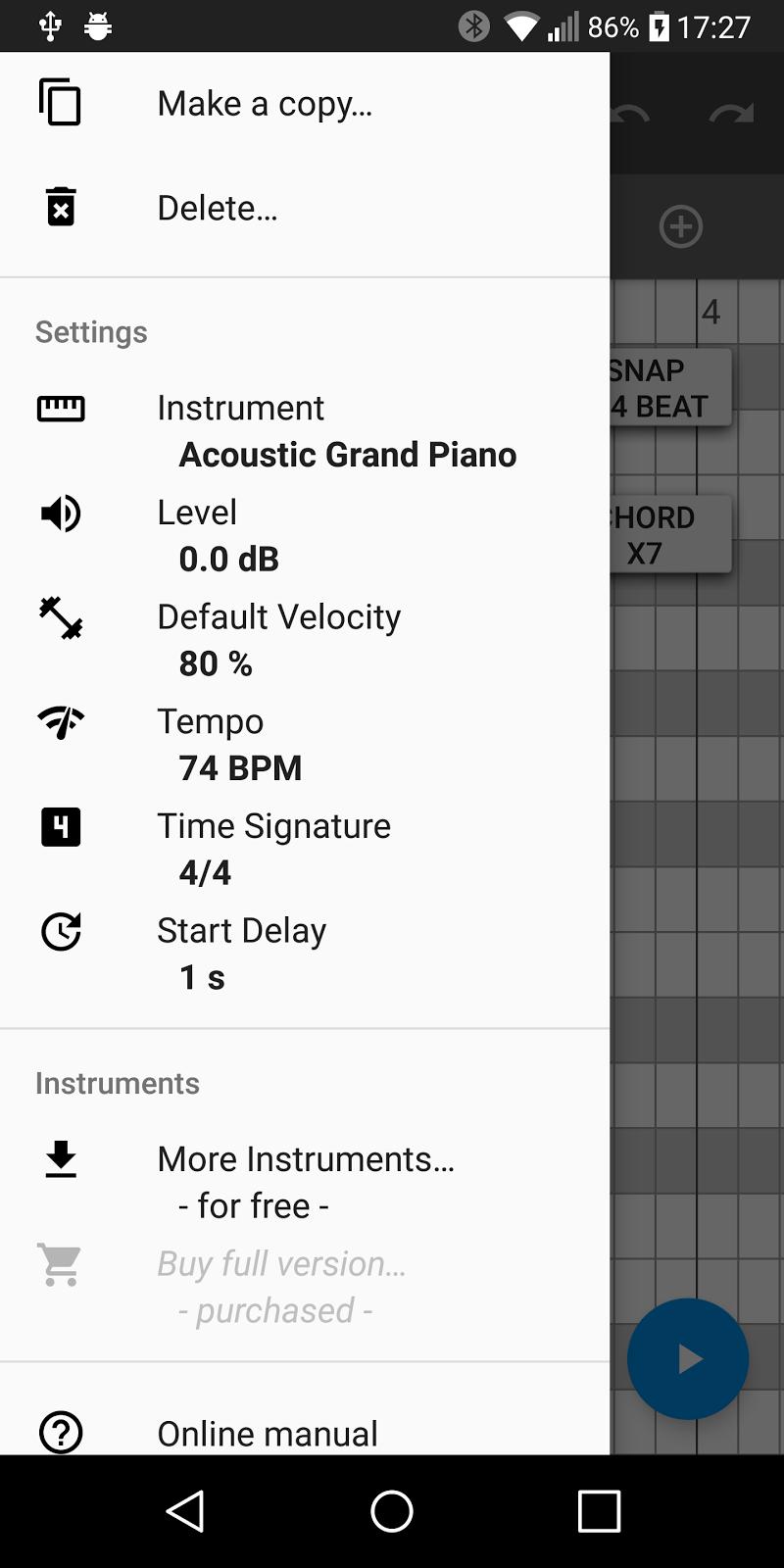 Aubade Audio Studio Screenshot 3