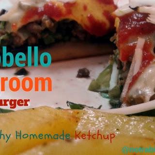 Portobello Mushroom Cheeseburger Recipe