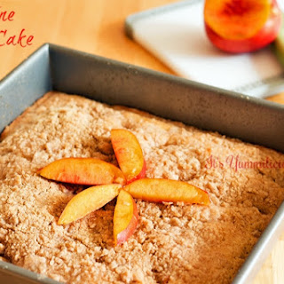Nectarine Crumb Cake