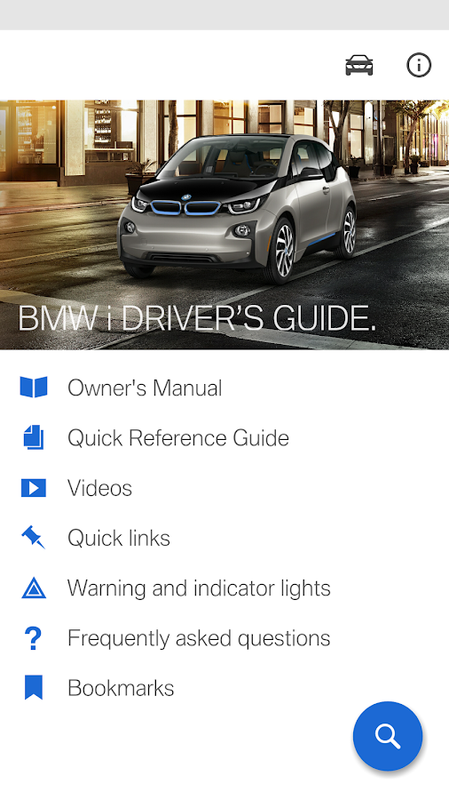 BMW i Driver's Guide- screenshot