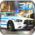 911 Police Driver Car Chase 3D icon
