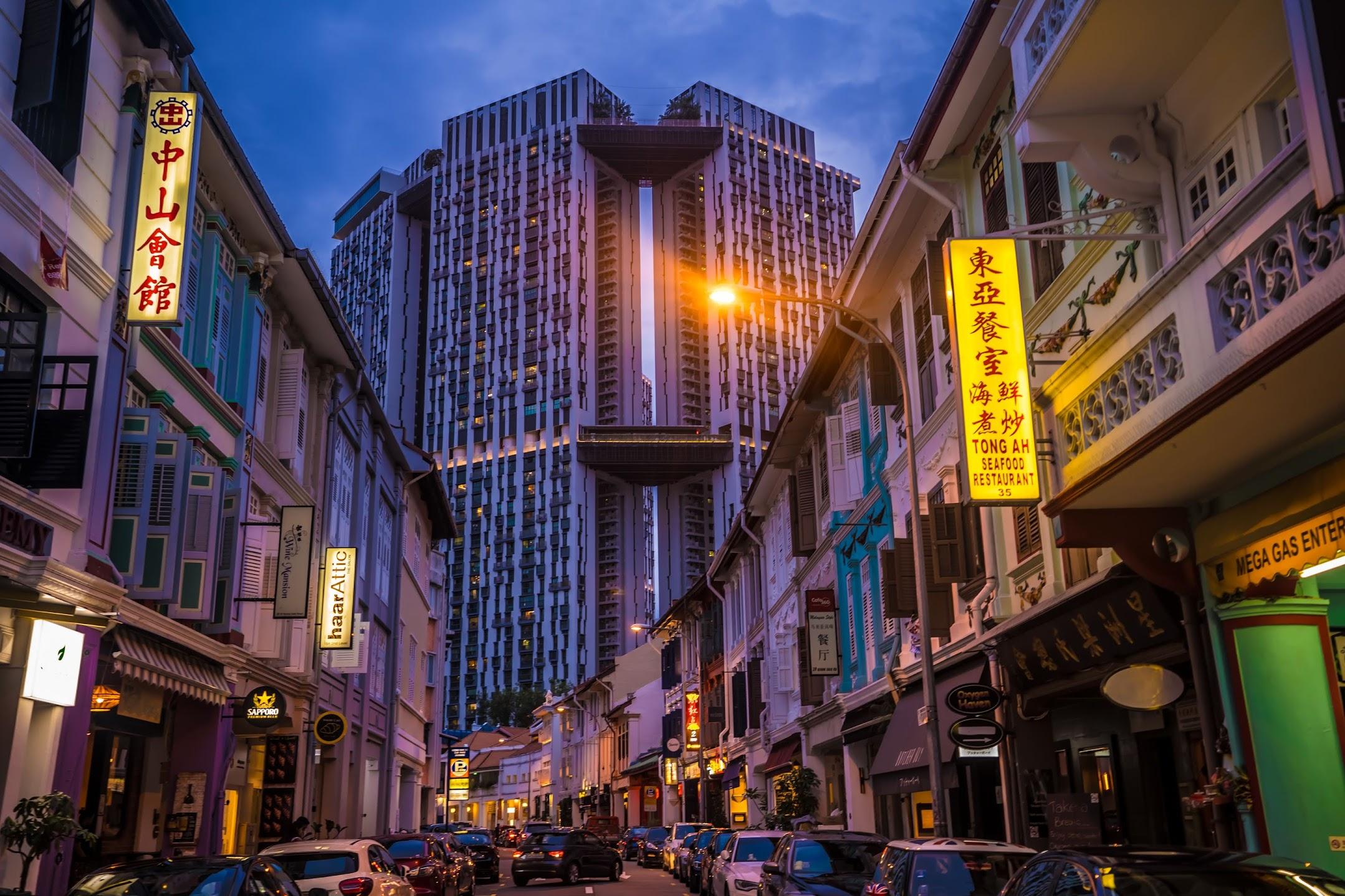 シンガポール Keong Saik Road