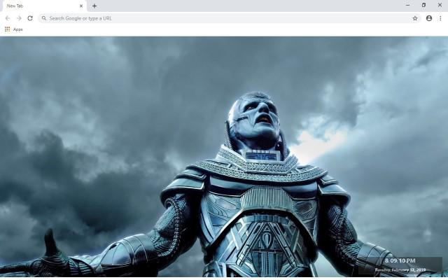 X-Men:Apocalypse New Tab Theme