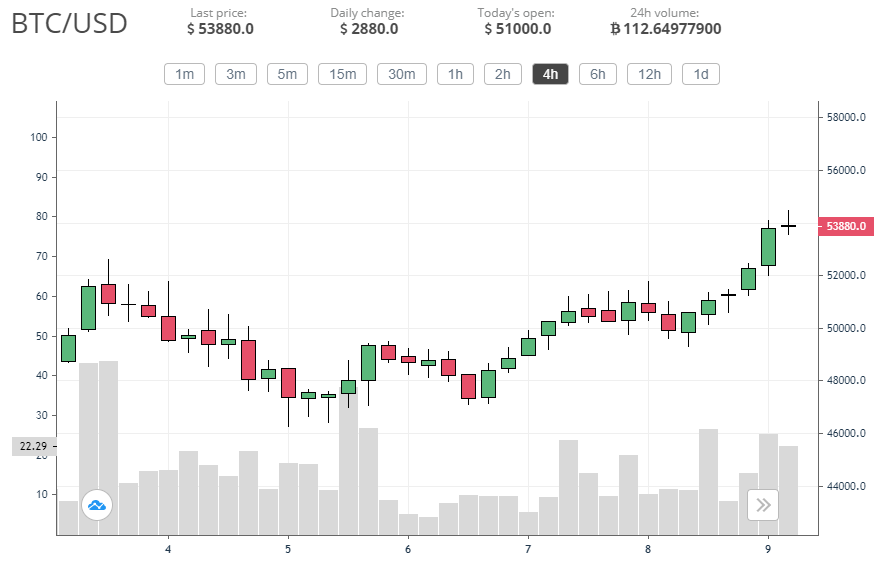 Bitcoin price rallies anew: Finally back above ,000
