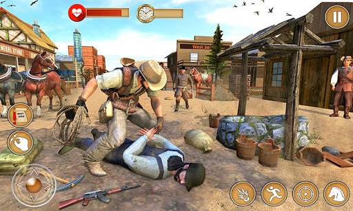 Western Cowboy Gun Shooting Fighter Open World Apk 2