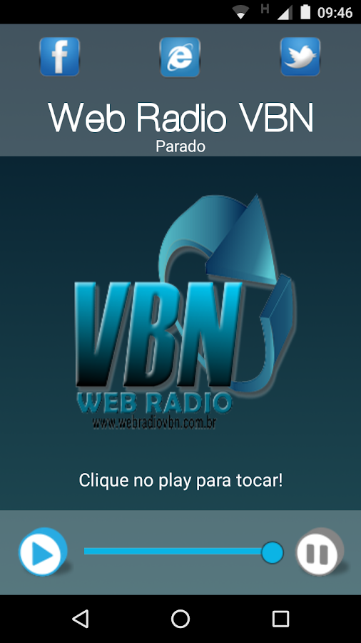Web Radio VBN- screenshot