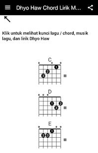 Kunci Gitar Lagu Dhyo Haw Cepu : kunci, gitar, Chord, Lirik, Google, Playలోని, యాప్లు