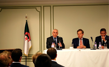 Photo: UKABC Pre-trade Mission Conference in London With a presence of the algerian ambassador to the UK and Lord Risby