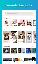 Canva: Graphic Design & Logo, Poster, Video Maker APK screenshot thumbnail 9