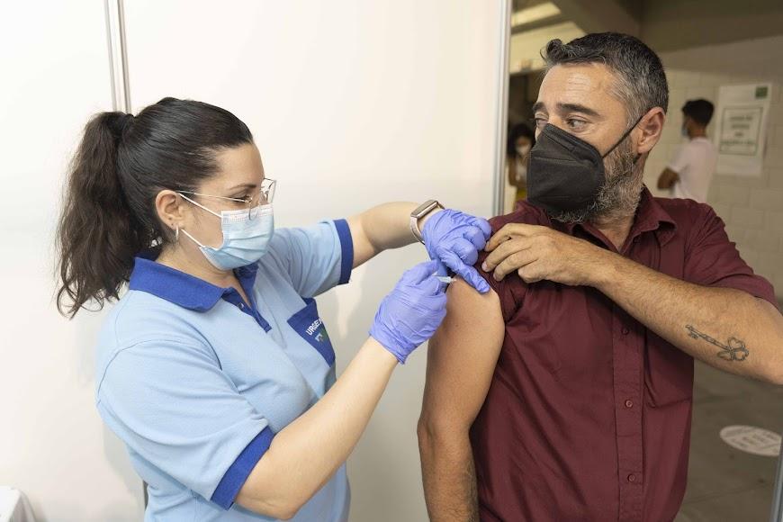 Los almerienses buscan con la vacuna la tan deseada inmunidad.
