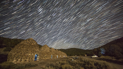 Photo: Star trails a short while later