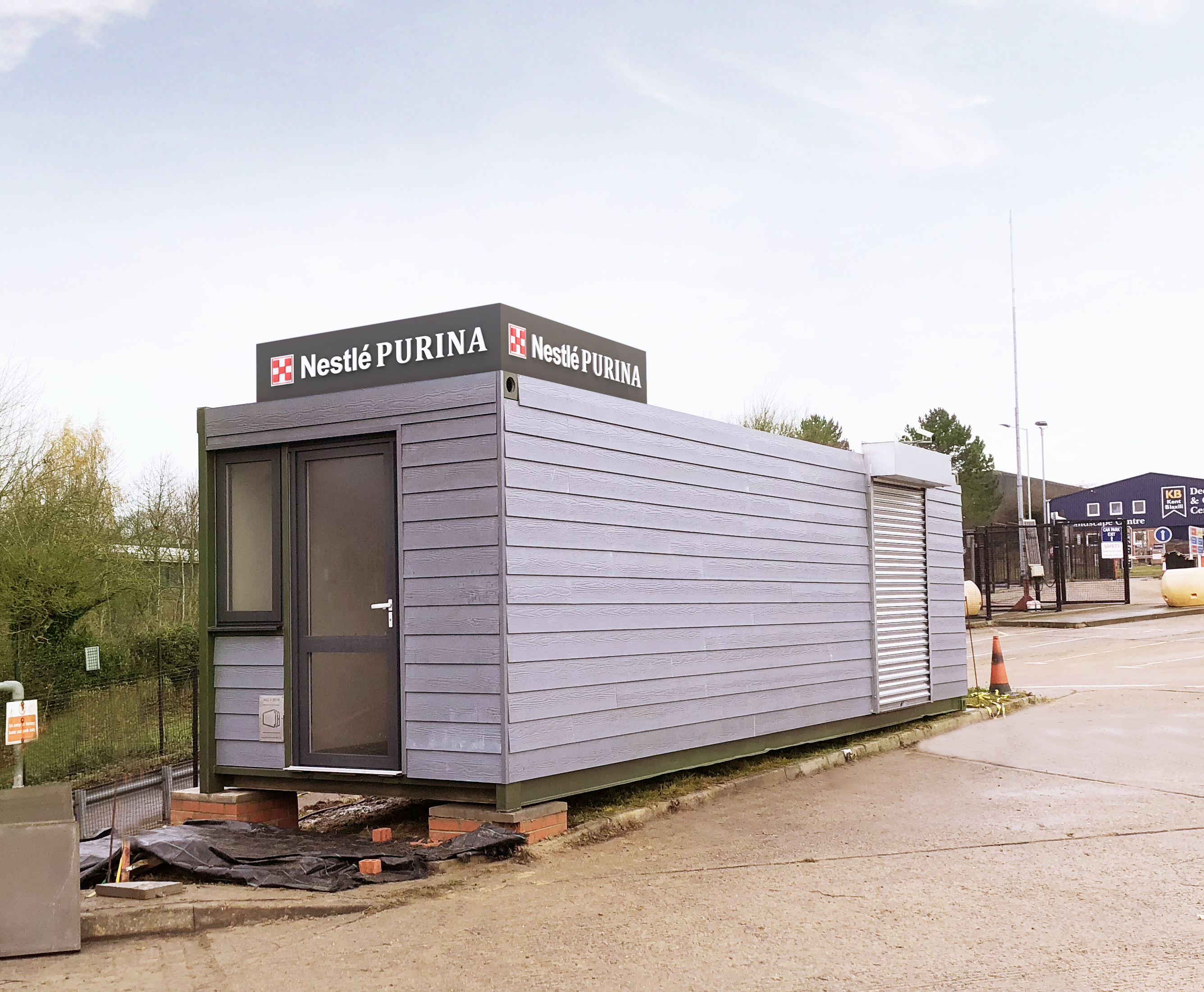 how to build a shipping container office