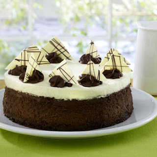 Decadent Mexican Chocolate Cheesecake.
