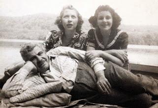 Photo: Bernard Sternbach, Catherine Leibsohn Sternbach, and Regina Sternbach