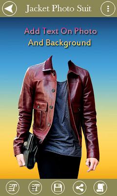 Man Jacket Photo Suit - screenshot