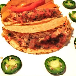 Chicken Tacos With Fajita Veggies – Dinner in a Jiffy.