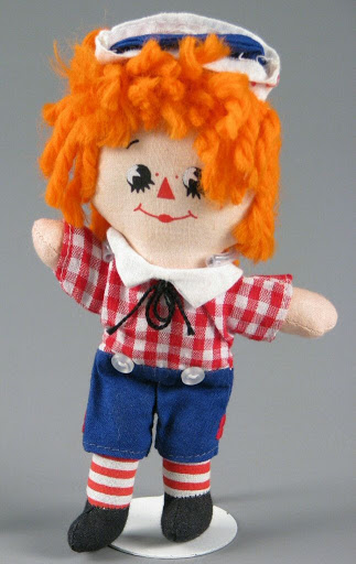 Doll:Mini Raggedy Andy