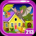 Cute Bat Rescue Game Kavi - 213 icon
