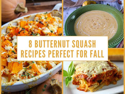 8 Butternut Squash Recipes Perfect for Fall