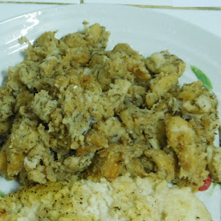 Homemade Stove Top Stuffing.