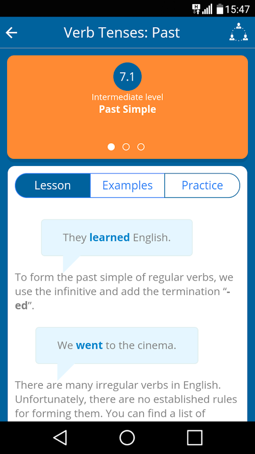 Learn English for free!- screenshot