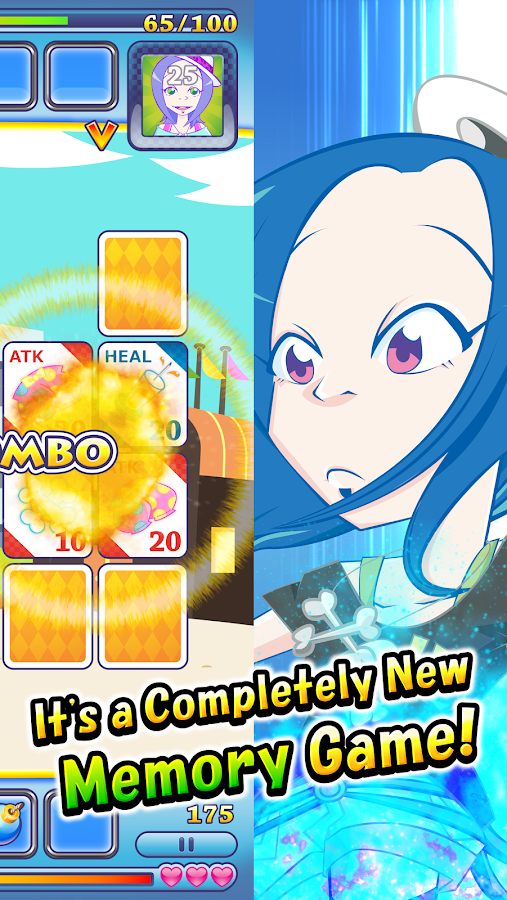 Henko Card Fight - Memory Game- screenshot