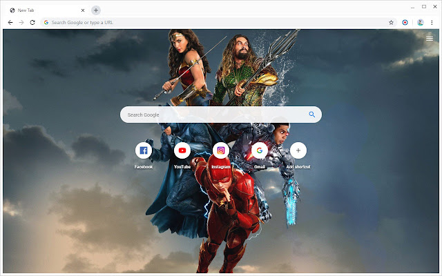 New Tab - Justice League